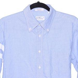 Gant Large Blue With White StripeLong Sleeve